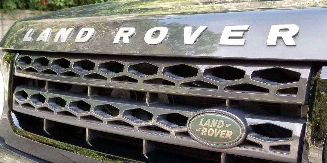 LAND ROVER DISCOVERY 4 5.0 V8 2012