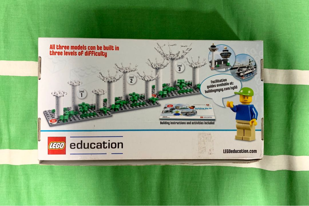 LEGO SG50 Limited Edition Set From Ministry of Education