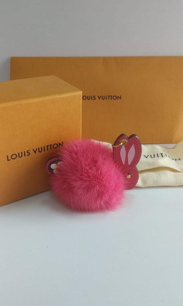 Louis Vuitton Bag Charm Mothers Day Limited Edition Rabbit Charm Authentic