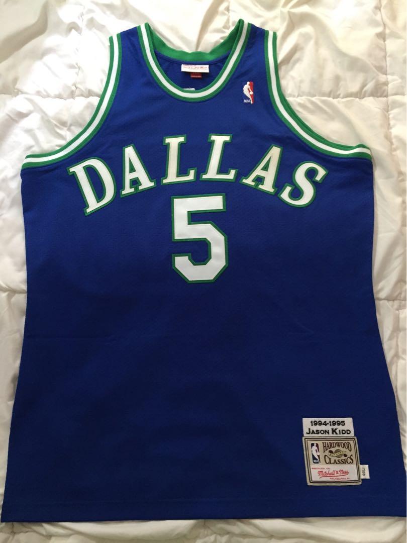 new york 598c5 c4388 NBA Mitchell &Ness Authentic Dallas Jason Kidd Basketball ...