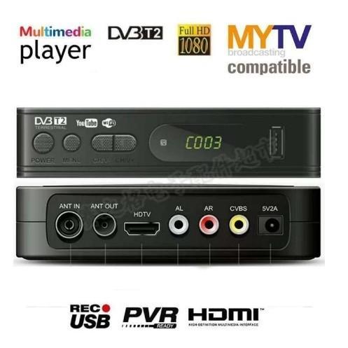 NEW DECODER DVB-T2 TERRESTRIAL DEKODER FOR MYTV MYFREEVIEW