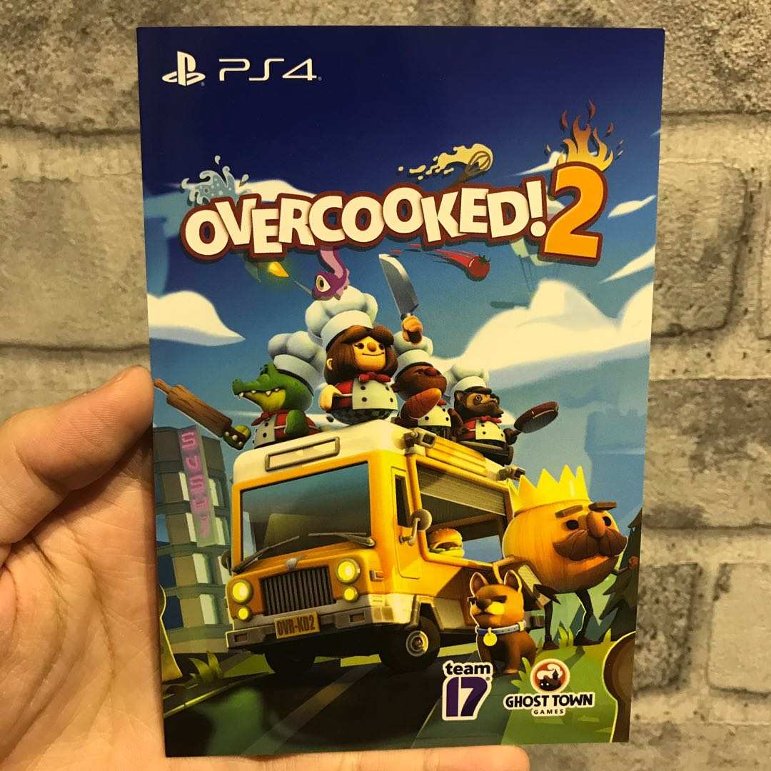 [NEW] PS4 Game - Overcooked 2 Digital Code