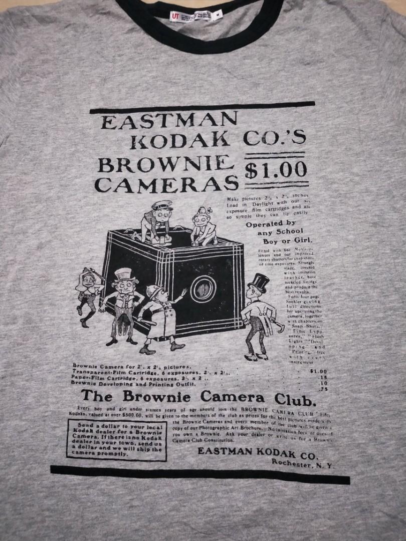 Ringer kodak t shirt, Men's Fashion, Men's Clothes, Tops on