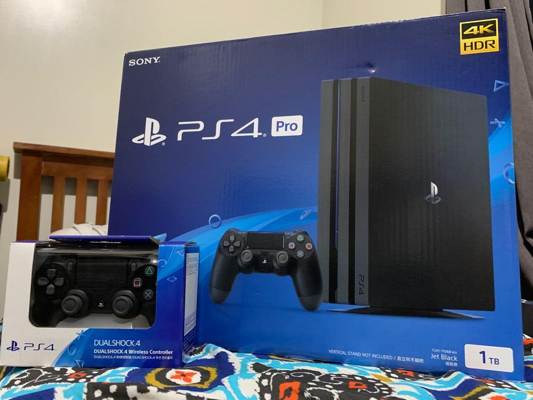 Sony PS4 Pro 1TB and SONY PS VR Headset on Carousell