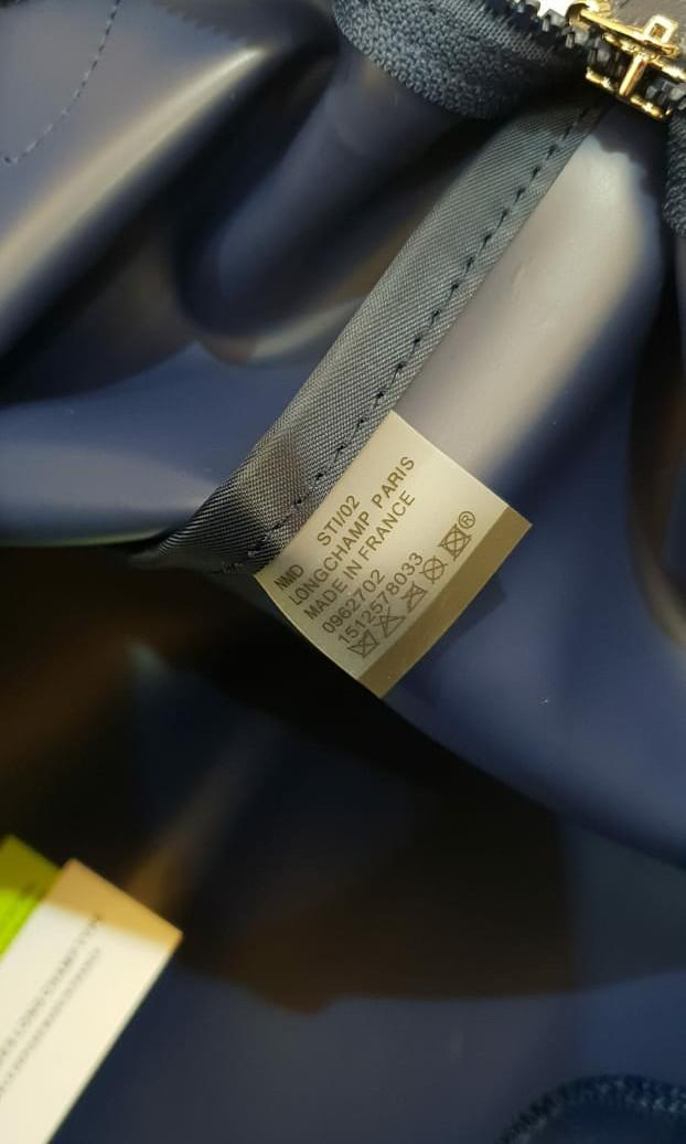 tas Longchamp Neo le pliage planetes long handle grade original #joinjuli