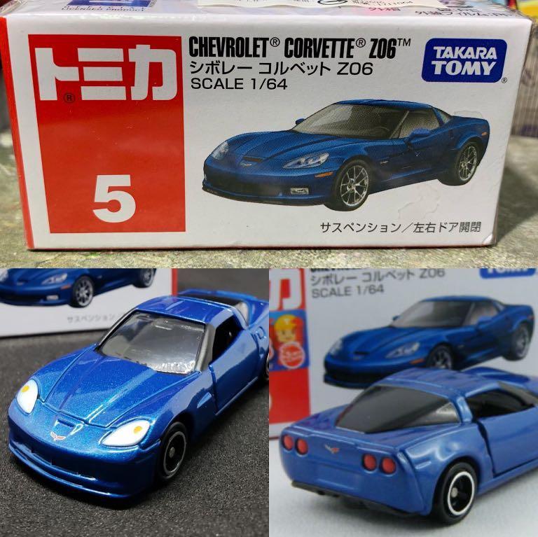 【車車故事】多美小汽車TOMICA No.5 Chevrolet Corvette Z06