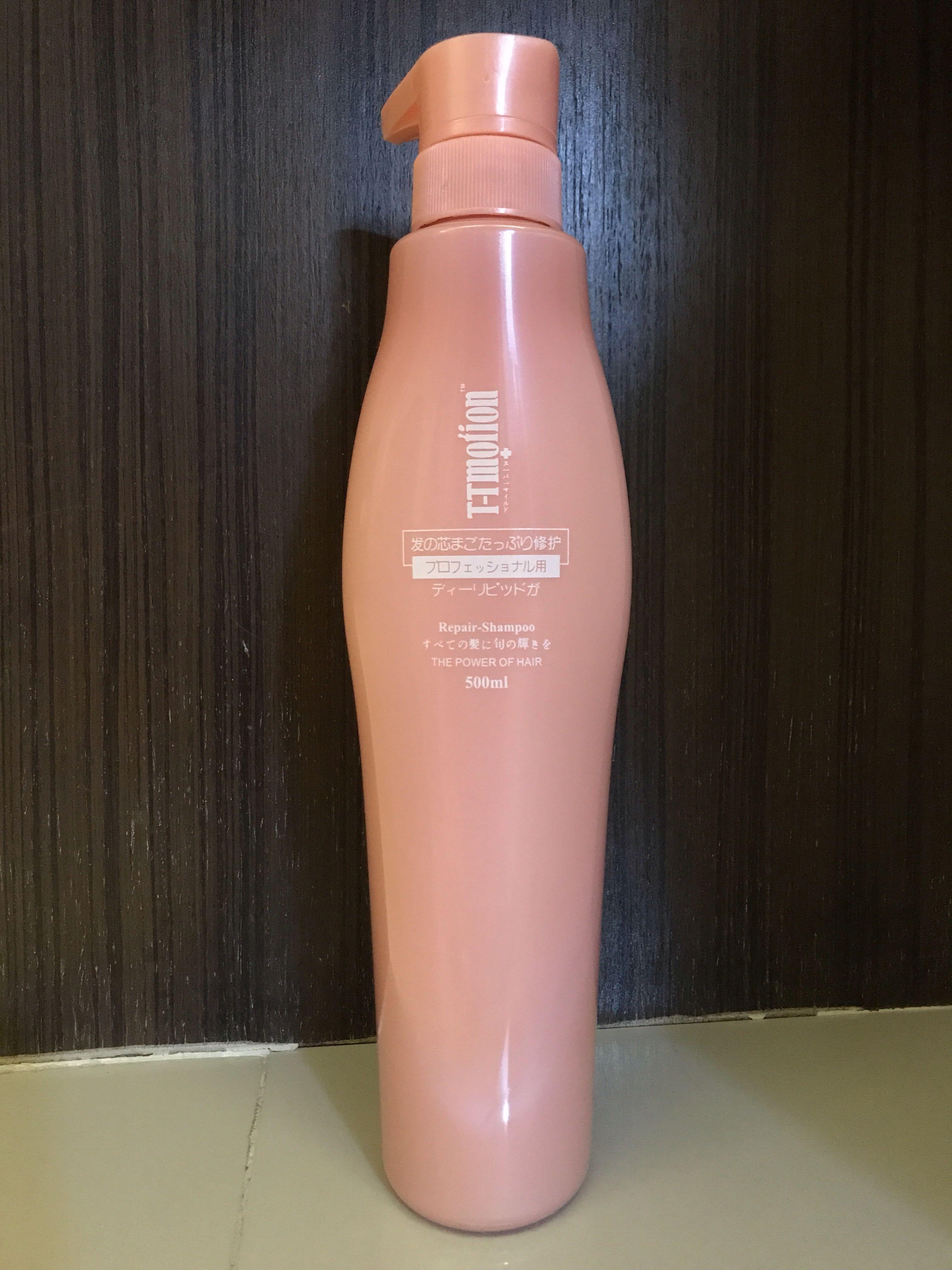 T-T Motion Repair-Shampoo 500ml, Health & Beauty, Hair Care