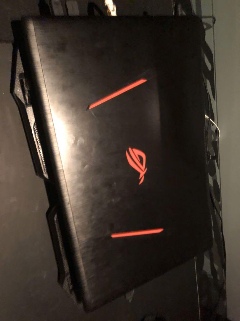 USED ASUS GL753VE GAMING LAPTOP WITH NVIDIA 1050ti and INTEL CORE I7. NEED SOLD FAST