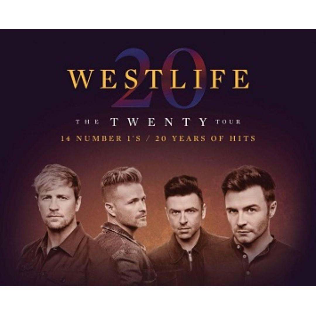 Westlife 澳門演唱會2019