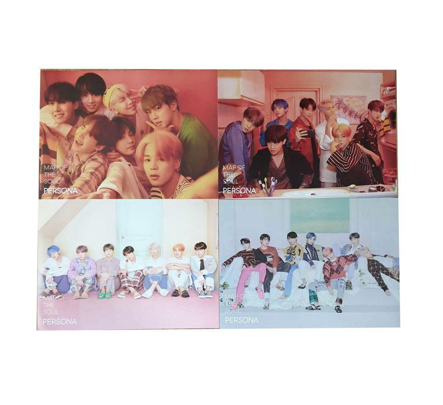 [WTS] BTS MAP OF THE SOUL PERSONA ALBUM POSTER SET