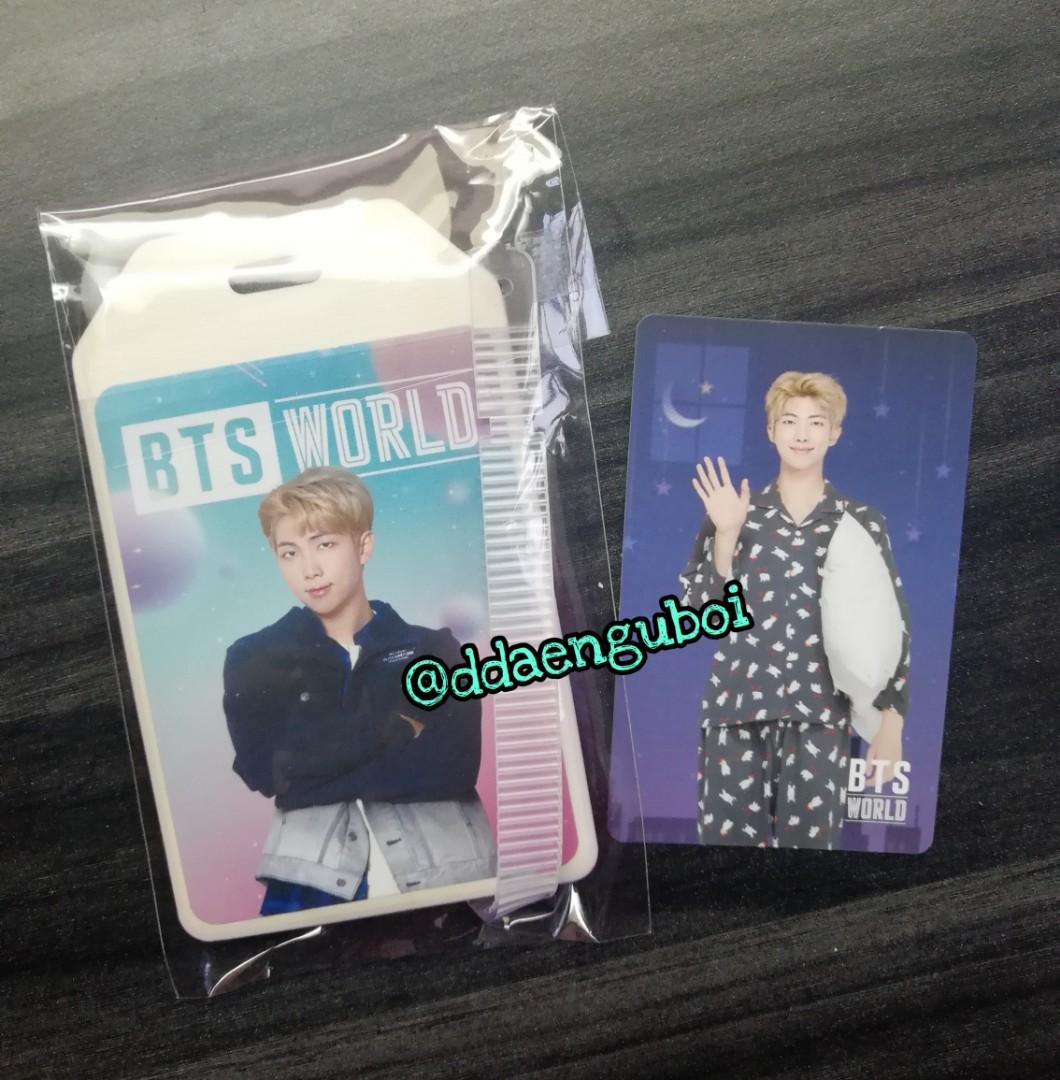 [WTS/WTT] BTS World Namjoon's Luggage tag and Coupon card