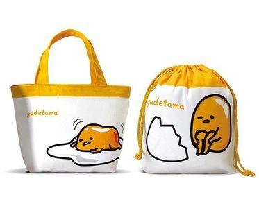 🚚 蛋黃哥雙包袋