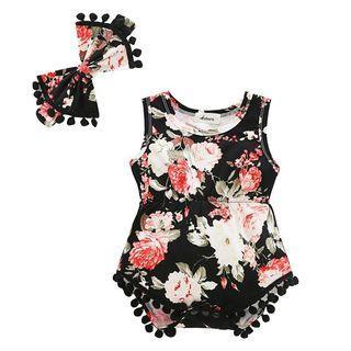 Pre Order Baby Romper - Code A193