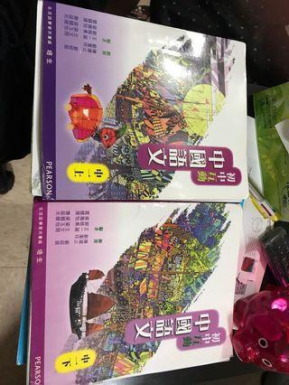 初中互動中國語文中一上下兩冊