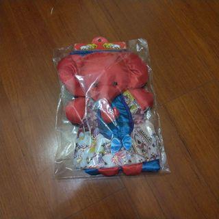 🚚 (全新)泰國紅色大象布衛生紙套