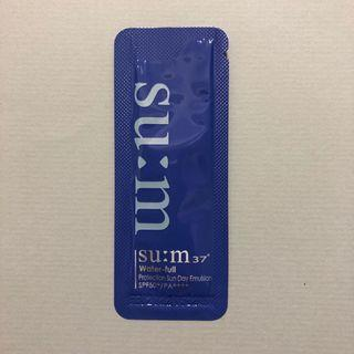 su:m37 Water-full Protection Sun Day Emulsion 水漾補濕防曬乳 試用sample
