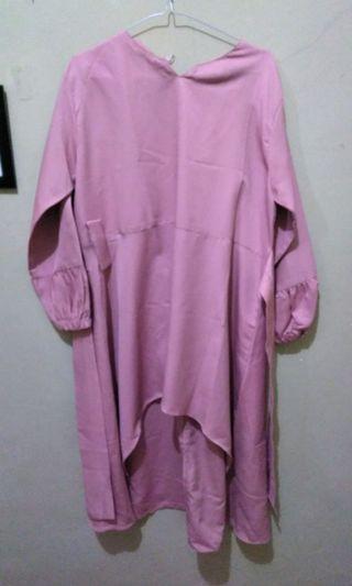 Tunik Pink blouse ibu hamil