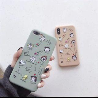 Iphone手機殼-史努比家族