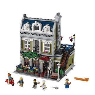 (已砌)Lego 街景 Parisian Restaurant 10243