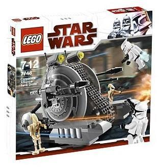 全新未開盒 Lego 7748 Corporate Alliance Tank Droid StarWars 星戰系列 (09年出產)