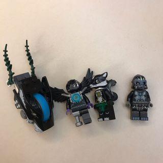 Lego人仔 chima (圖中全部)