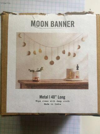 Urban Outfitters Moon Banner