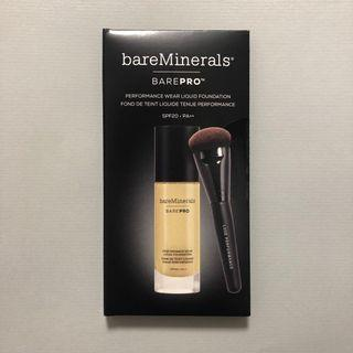 bareMinerals BAREPRO Performance Wear Liquid Foundation SPF 20 高效無瑕活膚粉底液 試用sample