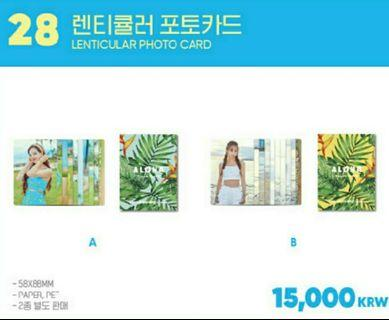 TWAII LENTICULAR PC AND JAPAN PC [LOOSE]