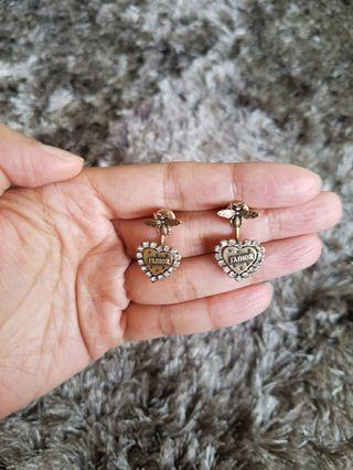Vintage heart Jadior Earrings
