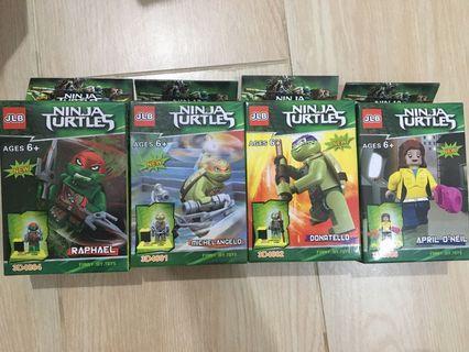 NEW Block Series Ninja Turtles