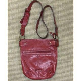 Axcess genuine leather sling bag