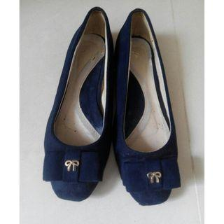 Blue ribbon shoes size 37 (free on buying 5 items from my shop)