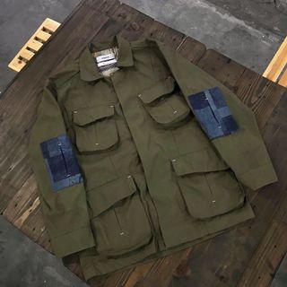 "Elhaus Jungle Jacket ""OLIVE"" LIKE NEW"