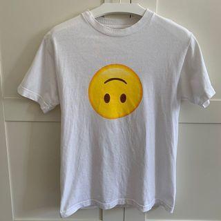 ASSC Emoji White Tee