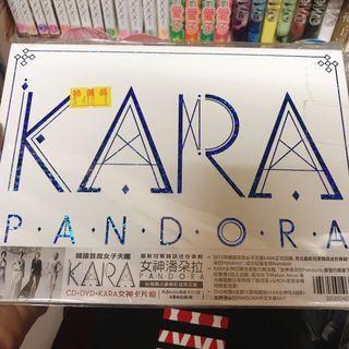 KARA PANDORA 專輯 贈小卡