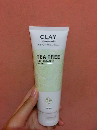 Clay botanicals masker tea tree