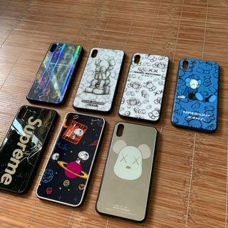 iPhone XS Max case Kaws Snoopy Supreme 包平郵