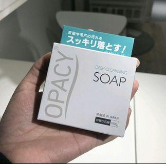 🇯🇵皮膚塵蟎剋星🔆 OPACY 深層潔淨除蟎洗面皂 100 g