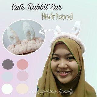 Cute Rabbit Ear Hairband 🐰