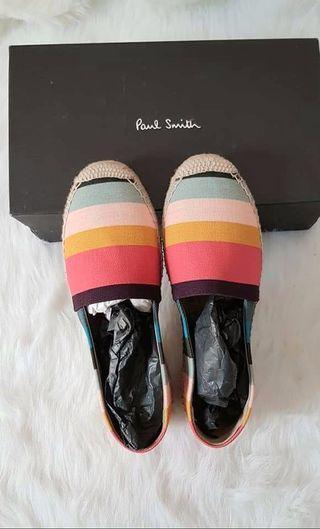 Paul Smith 經典條紋草編鞋