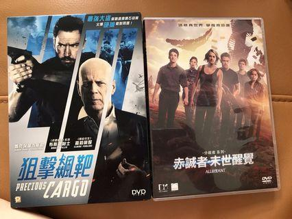 電影dvd2隻 precious cargo& allegiant