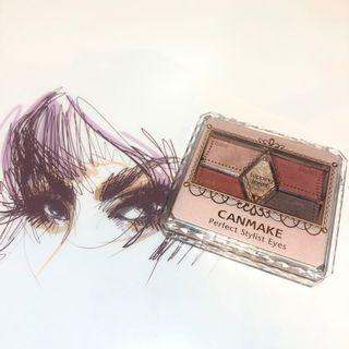 Canmake eyeshadow palette 眼影盤 14