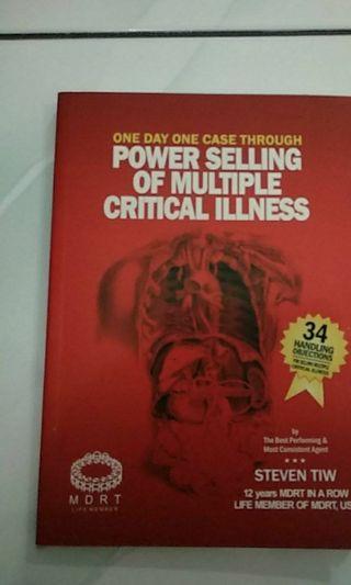 Buku power selling of multiple critical illness