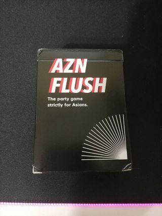 Azn Flush Card Game