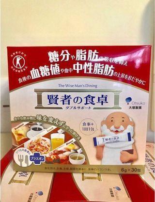 現貨4盒包順豐 22年4月尾到期 賢者之食卓 全新未開 日本直送 一小盒共30小包