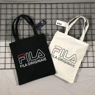 FILA Heritage Originaie Canvas Tote Bag