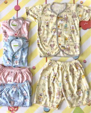 🚚 9-12 Months Baby Short Sleeve Set- Premium Quality - MIX & MATCH