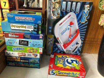 Excellent fun Board games for 7-10yrs+