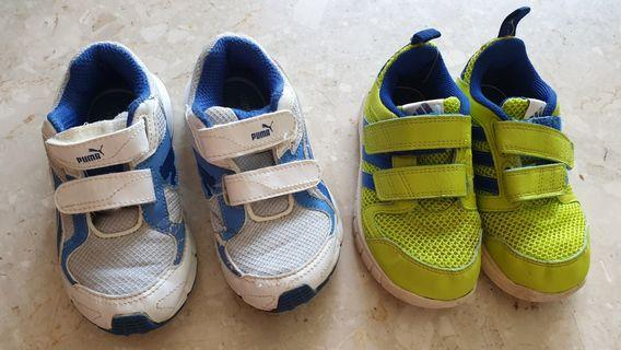 Baby Shoes puma and adidas