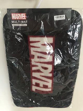 日本直送 Marvel Iron man 地氈 carpet mat 復仇者聯盟 鐵甲奇夾 Ironman